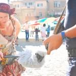 Frieda BK - Parade in Mardin, Turkey, with Her Yerde Sanat (photo: Aleksandra Miciak)