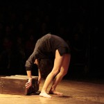 Sandrine Colombet - Contortion with suitcase
