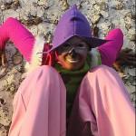 Johanna Rebolledo - Parade sur échasses